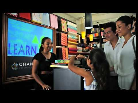 Chanterelle Book Shop Seychelles TV Commercial