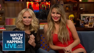 Chrissy Teigen And Kristin Chenoweth React To The RHONY Teaser Trailer | WWHL