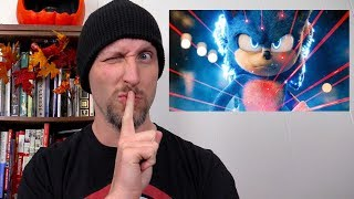 Doug Reacts to Sonic the Hedgehog Trailer 2