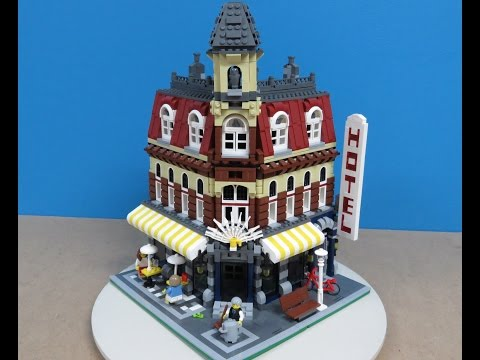 Fake Lego cloned Corner Cafe 10182 review and comparison
