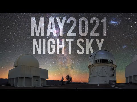What's in the Night Sky May 2021 #WITNS | Lunar Eclipse | Eta Aquariid Meteor Shower - Alyn Wallace
