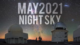 What's in the Night Sky May 2021 #WITNS | Lunar Eclipse | Eta Aquariid Meteor Shower
