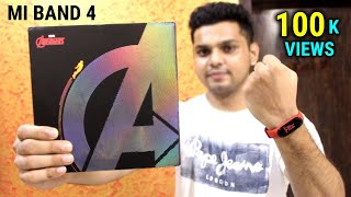 MI Band 4 Avengers End Game Edition INDIA | Unboxing & Overview | Hindi
