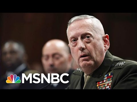 Donald Trump Picks Gen. 'Mad Dog' Matthis As Secretary Of Defense | The 11th Hour | MSNBC