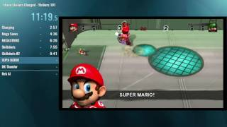 Mario Strikers Charged: Strikers 101 Speedrun in 19:36 [FWR]