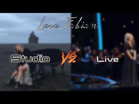 Lara Fabian: Studio VS Live (Same Song Comparison)