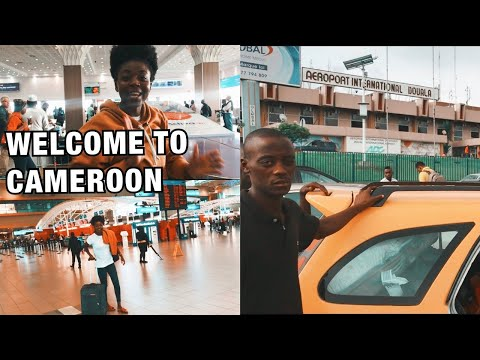 EXCITING RETURN TO CAMEROON 🇨🇲 Douala airport awaits! let the adventure begin. Episode 1