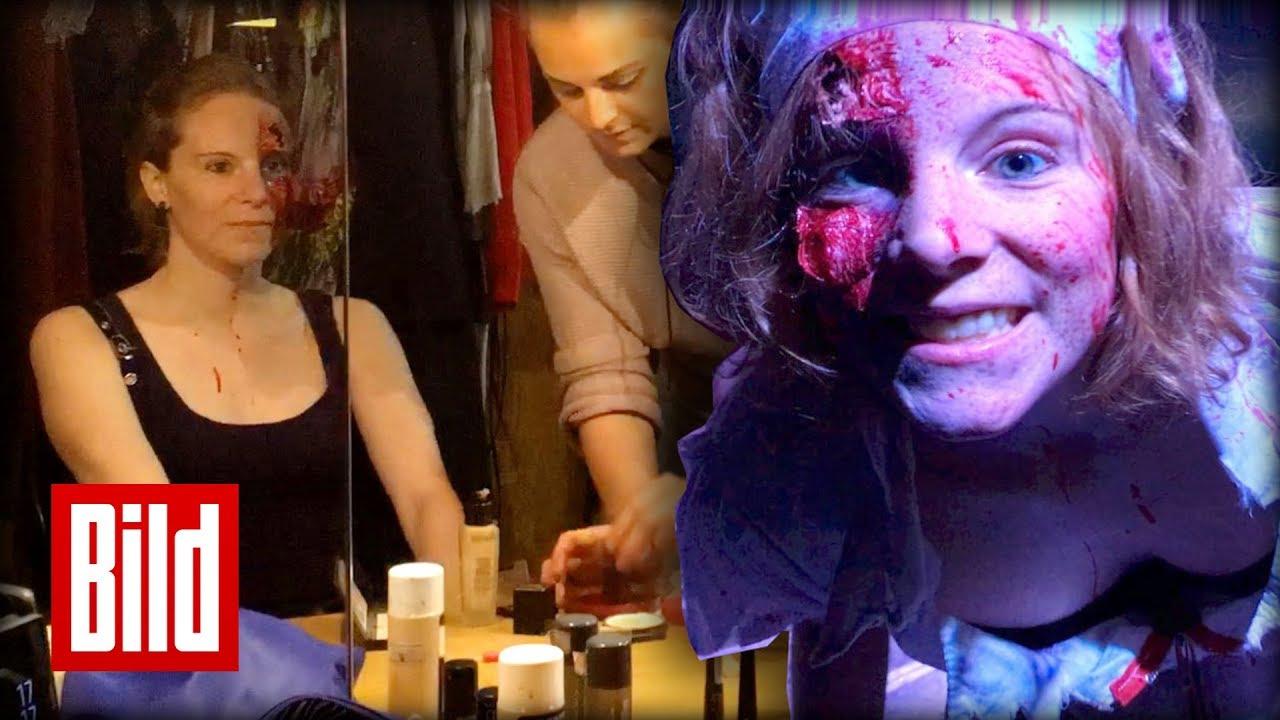Halloween-Kostüme - Horror-Krankschwester / Gruselige Verwandlung