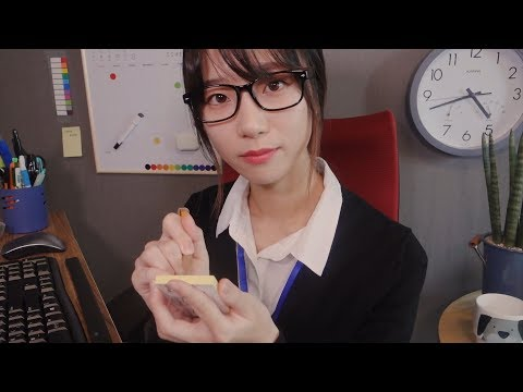 Little Delight in the Office📎/ ASMR Taking Care of You & Fix