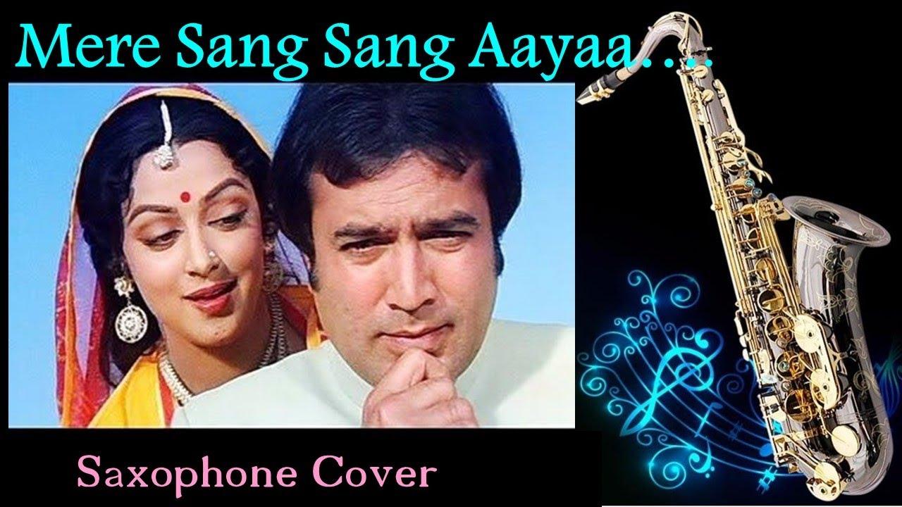 #603: Mere Sang Sang Aaya Teri Yaadon Ka Mela- Saxophone Cover | Kishore Kumar | Rajput