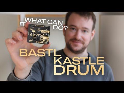 Kastle Drum - every feature explained - modular glitch-drummachine