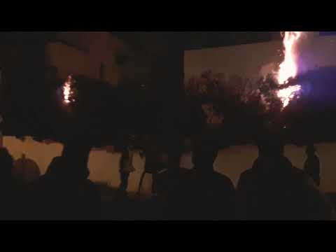 Incendie rabat scoop 2018 نار في الرباط