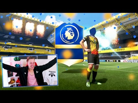GIANT *NEW* PREMIER LEAGUE TOTS FIFA 17 PACK OPENING!!