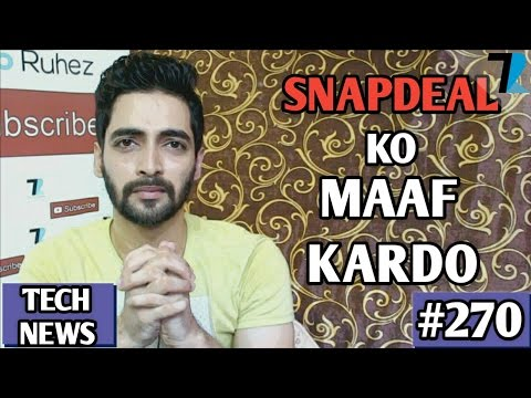 Snapchat Ratings,Man Made Iphone,Vivo V5s India,Nokia Update,Flipkart Sale,Xiaomi Mi6 - TN #270
