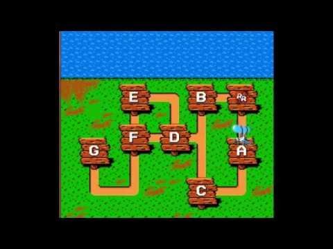 Играю в игру Чип и Дейл на Денди