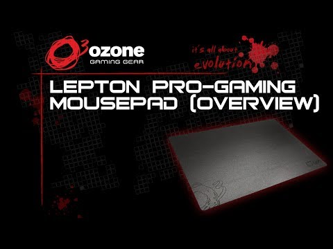 Ozone Lepton Pro-Gaming Mousepad [Overview]