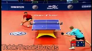 Ma Lin Vs Michael Maze : 1/4 Final [Grand Finals 2004]