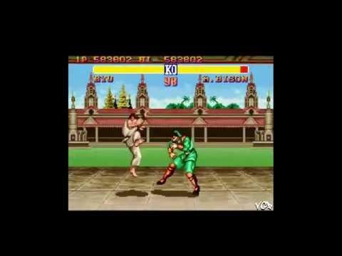 Game Genie (SNES) - Street Fighter II - Background changes