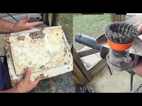 How to Metal restore restauración de metal con óxido