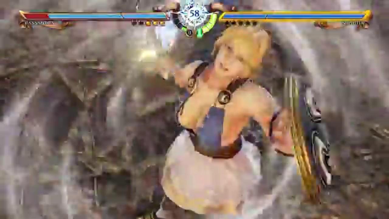 Soul Calibur VI Sophitia VS. Tira Nude Mod - YouTube