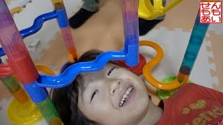 マーブルレースであそぶせんももあい Marble Race Toy Playing! thumbnail