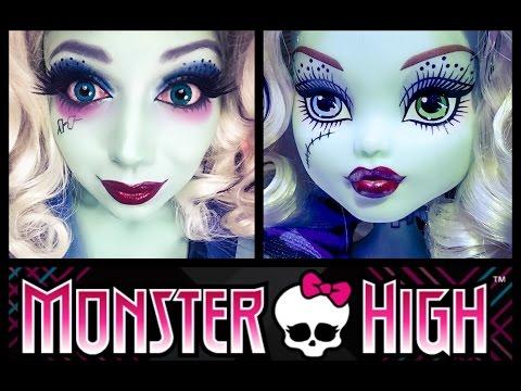 Monster High - Frankie Stein MAKEUP! | Charisma Star