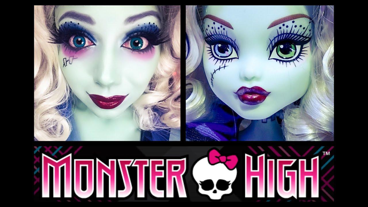 Monster high frankie stein makeup charisma star youtube - Monster high youtube ...