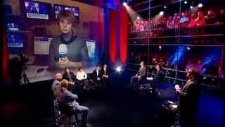 Наталья Магда: 34 телеканал незаконно выключили с эфира на 2,5 часа(, 2014-10-24T21:57:41.000Z)