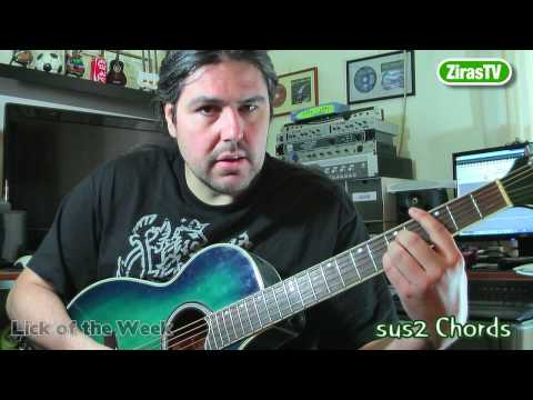 Sus2 Chords (and How To Use Them)   Lick Of The Week 72