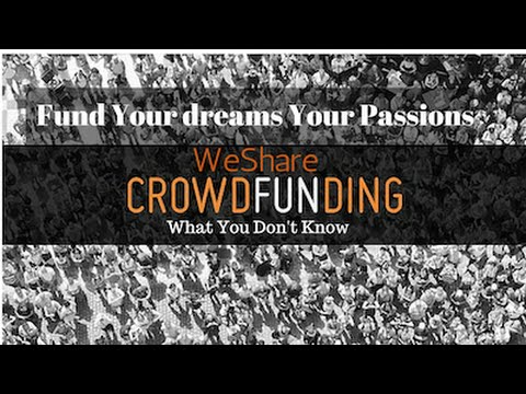 Fund a Biz Project, Community, Personal Interests, Artistic Endeavors - CrowdFunding