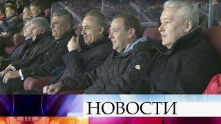 Сборная России пофутболу проиграла команде Аргентины сосчетом 0:1 втоварищеском матче.