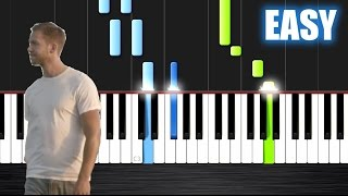 Calvin Harris - Summer - EASY Piano Tutorial by PlutaX