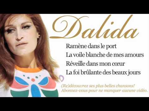 Dalida - Madona - Paroles (Lyrics)