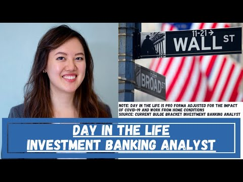 INVESTMENT BANKING ANALYST DAY IN THE LIFE   16 hour workdays   Wall Street WFH IB Series