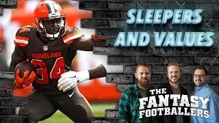 Fantasy Football 2016 - Sleepers, Values, & Arian Foster - Ep. #251