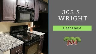 Wright Street Apartments - 303 S. Wright - 2 Bedroom Overview