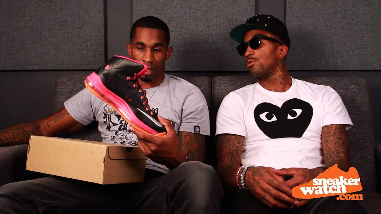 437ed97ae1d JR Smith Doesn t Approve LeBron s  270 Sneaker - YouTube