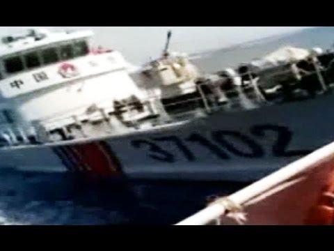 中国船による体当たり映像公開=ベトナム外務省「中国が攻撃」と主張