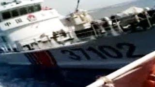 中国船による体当たり映像公開=ベトナム外務省「中国が攻撃」と主張 thumbnail