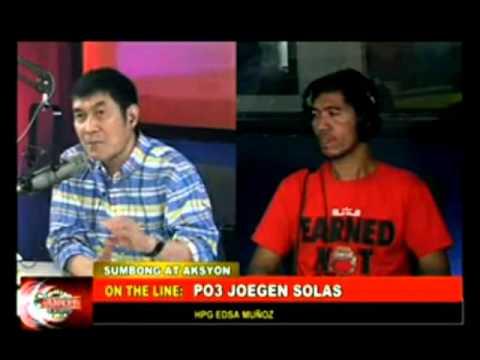 Binging PO3, Binigay Ang Lisensya Ng Biktima Sa Nakahit-and-Run!