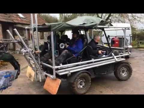 Grip Hire Chapman UK   Dune Buggy Tracking Vehicle SD