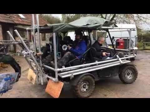 Grip Hire Chapman UK   Dune Buggy Tracking Vehicle SD