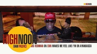 Bomani Jones and Pablo Torre can't help but laugh at Dennis Rodman's CNN rant | High Noon | ESPN