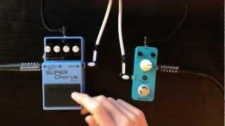 BOSS Vs. Mooer Shootout! CH-1 Chorus vs Ensemble King Chorus!