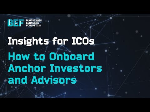 How to Onboard Anchor Investors and Advisors