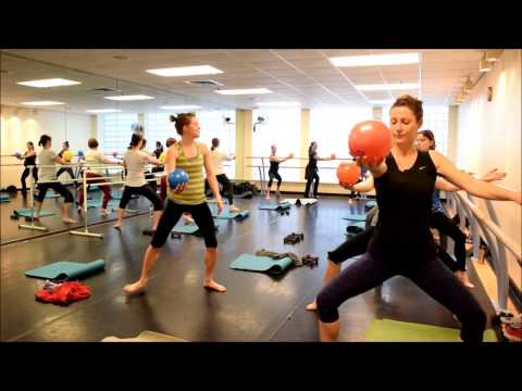 Group Exercise Classes at the Weinstein JCC - Barre Pilates