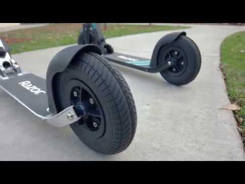 Самокат для города с надувными колёсами Razor A5 Air
