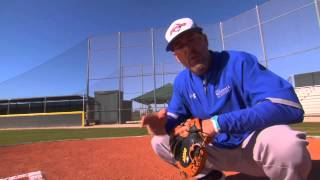Receiving and Receiving Position - Catcher Fundamentals Series by the IMG Academy baseball (2 of 6)