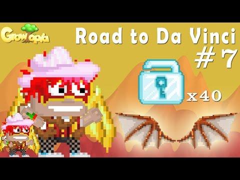 Growtopia | Road to Da Vinci #7 | 40 Diamond Locks