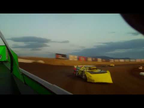 9/9/2017 Gallatin Speedway  heat race (in car rear)
